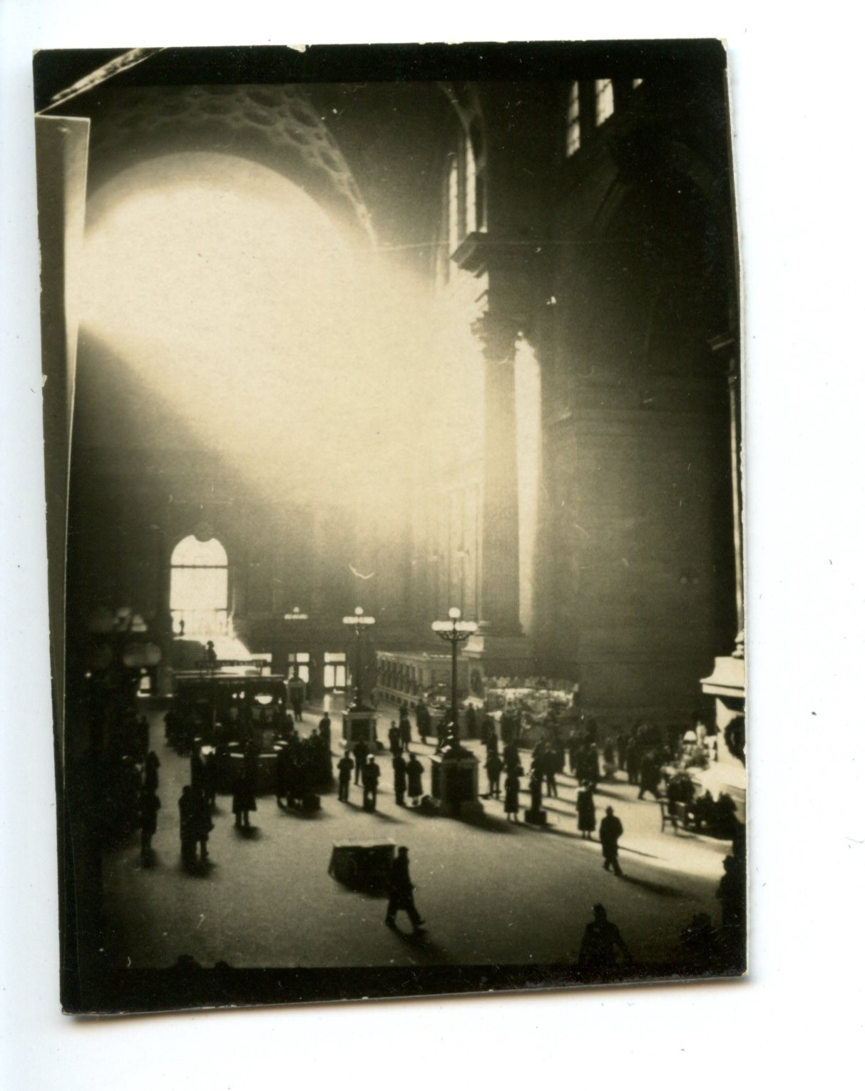 Grand Central Interior with Halo of Light