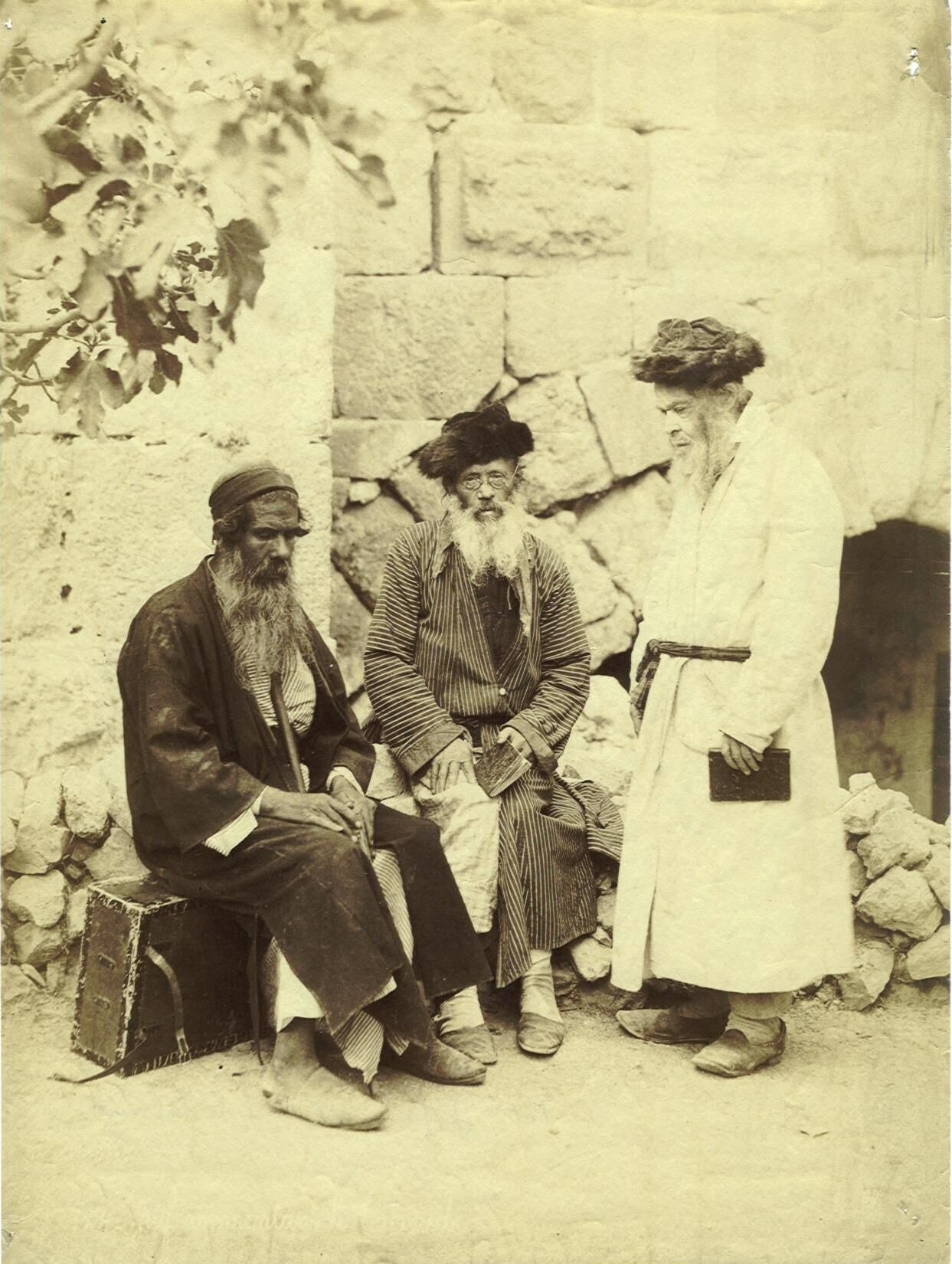 Jews discussing the Talmud