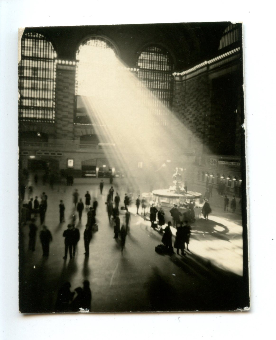 Grand Central Interior with Broad Shaft of Light