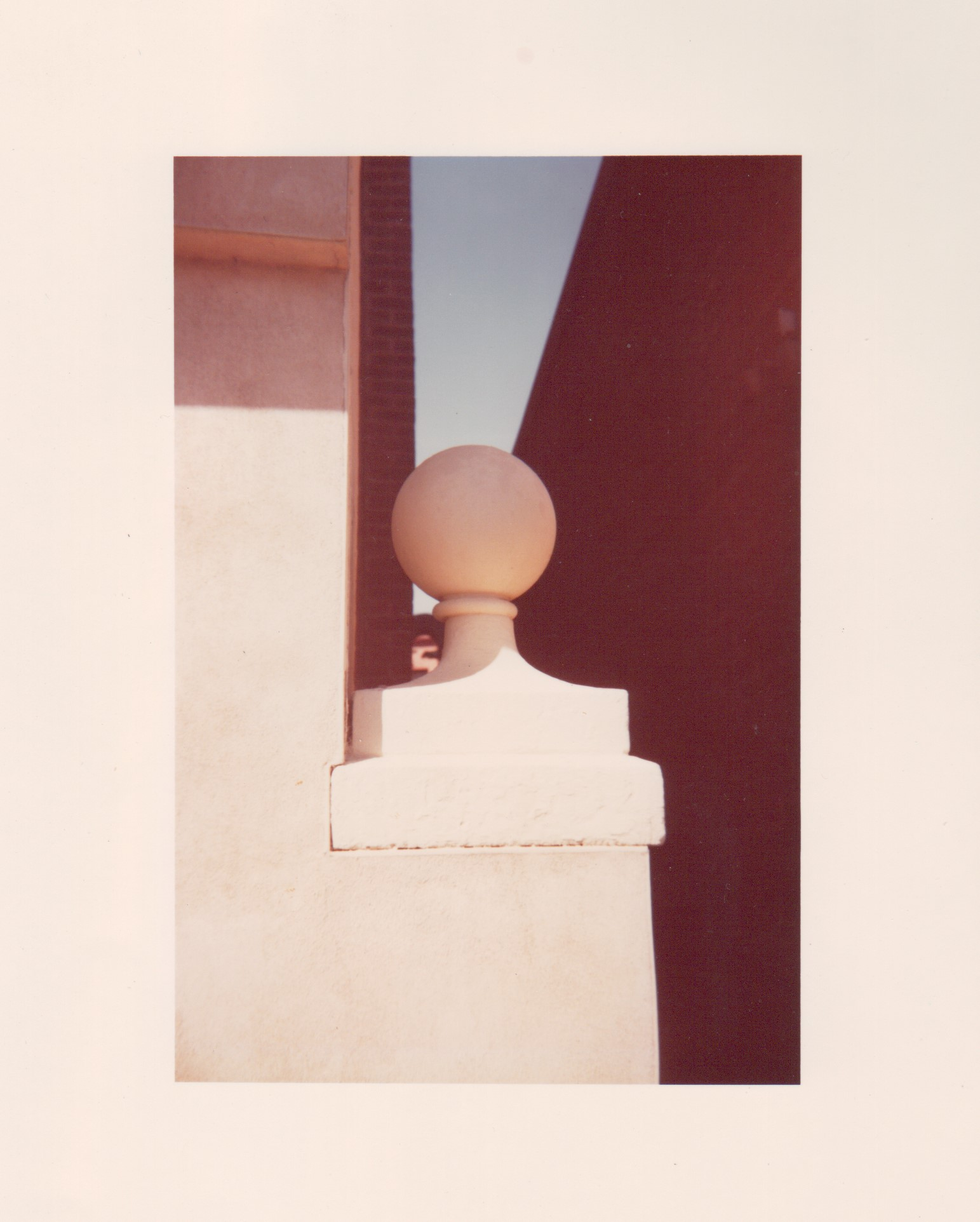 White Finial, Washington D.C., Architectural Detail (white)