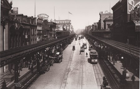 The Bowery, Looking North from Grand Street