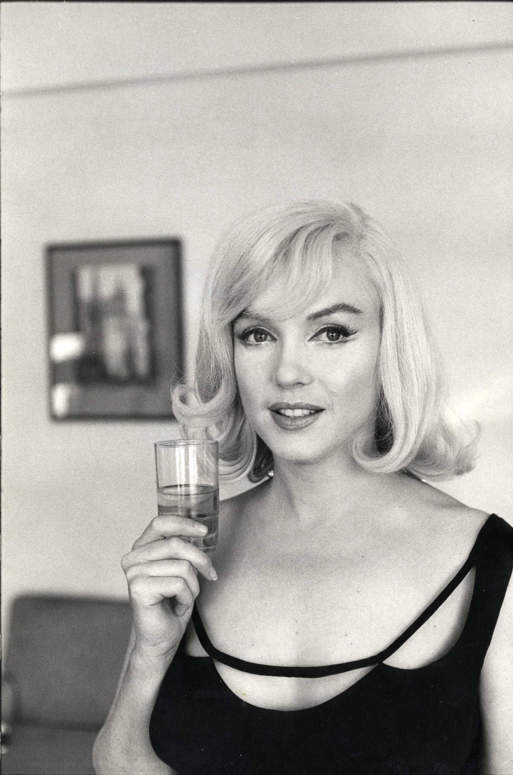 Marilyn Monroe on the set of �The Misfits,� 1960