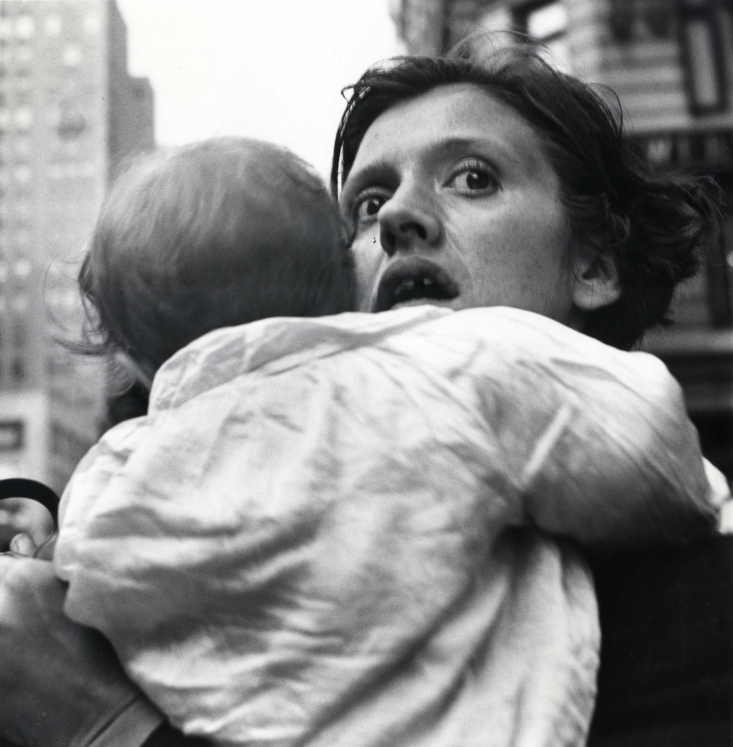Mother and Child, Herald Square, ca. 1955