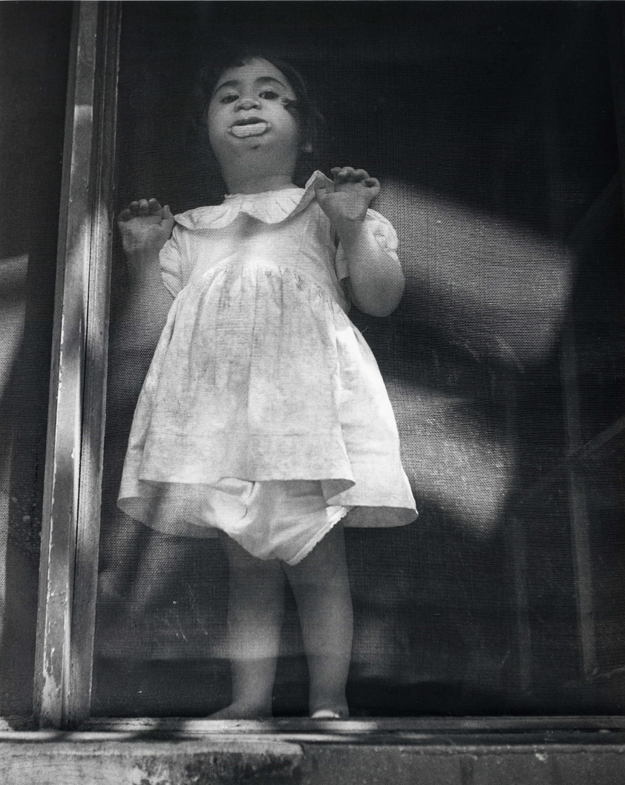 The Screen, Child in Window, Lower East Side, 1951