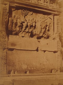 Expulsion of the Jews from Jerusalem, Arch of Titus Frieze, Rome