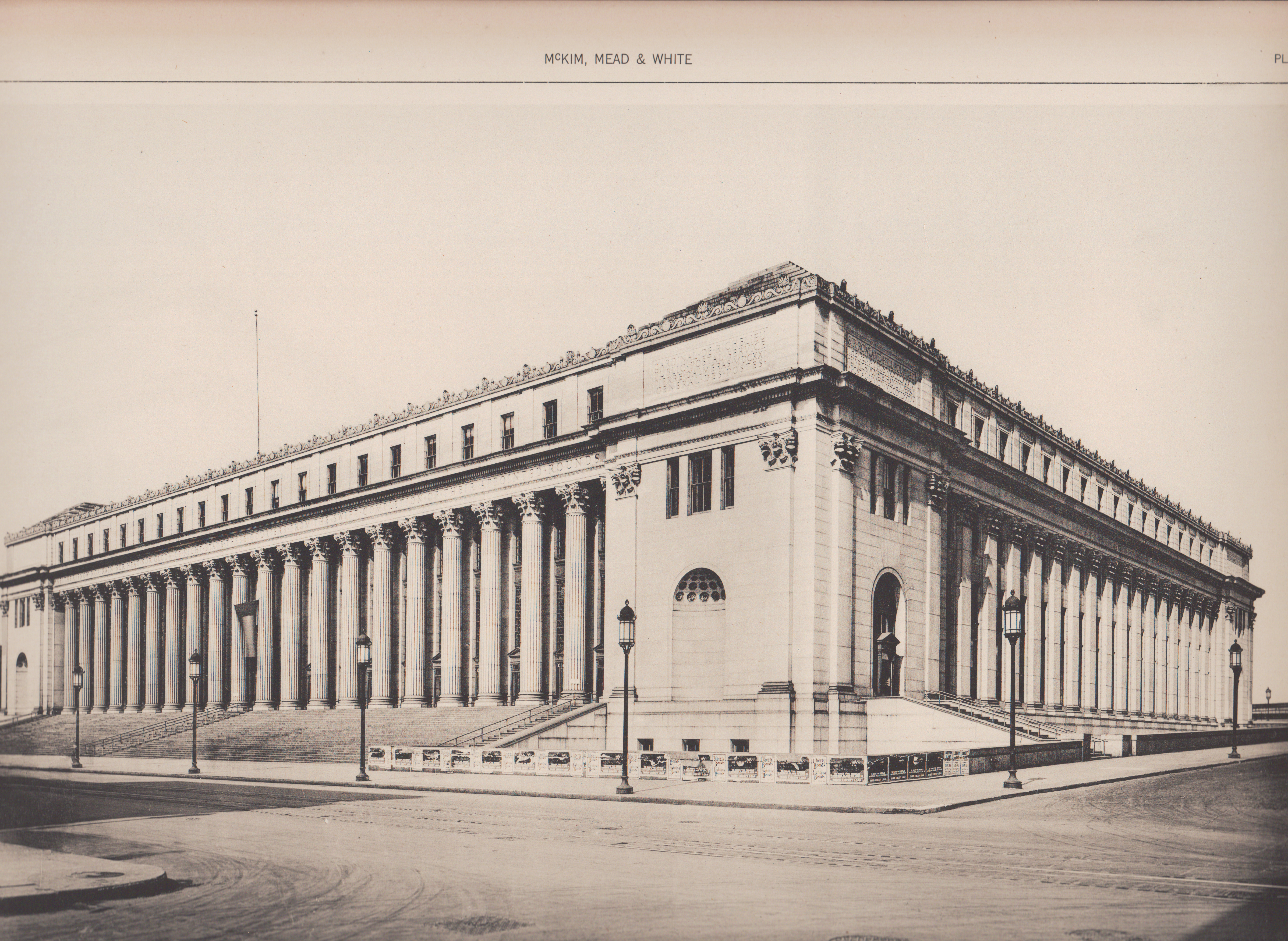 U.S. Post Office, NYC (McKim, Mead and White)