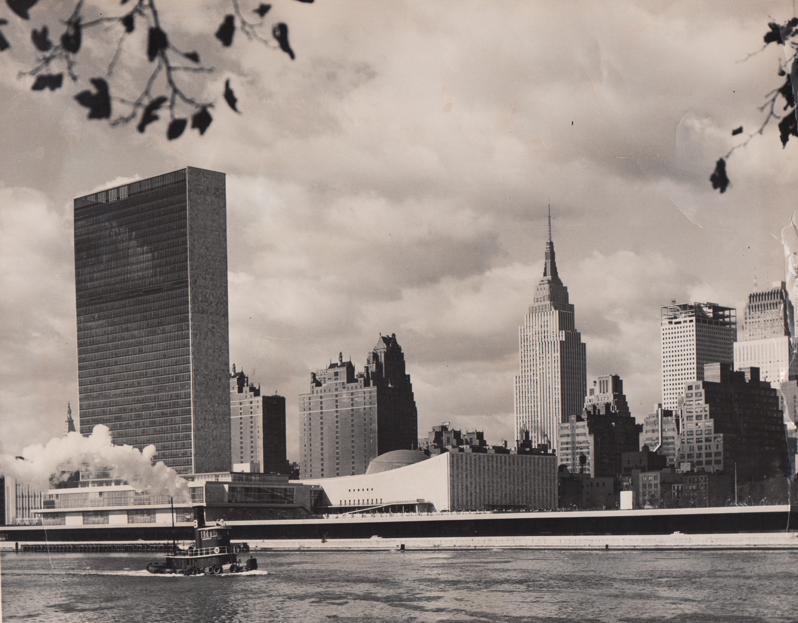 United Nations, October 1955