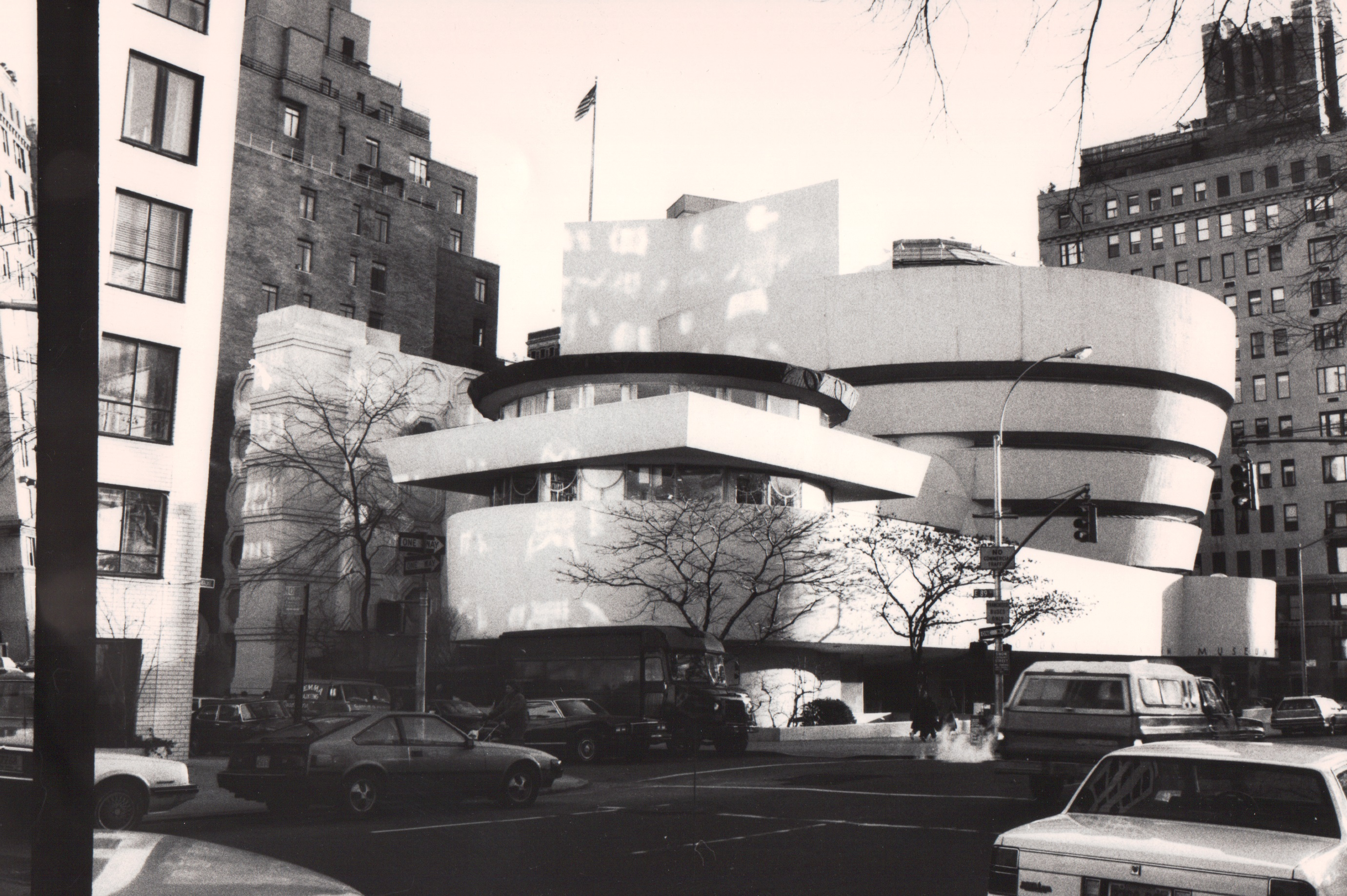 The Real Guggenheim Museum, Fifth Ave, NYC 1980s
