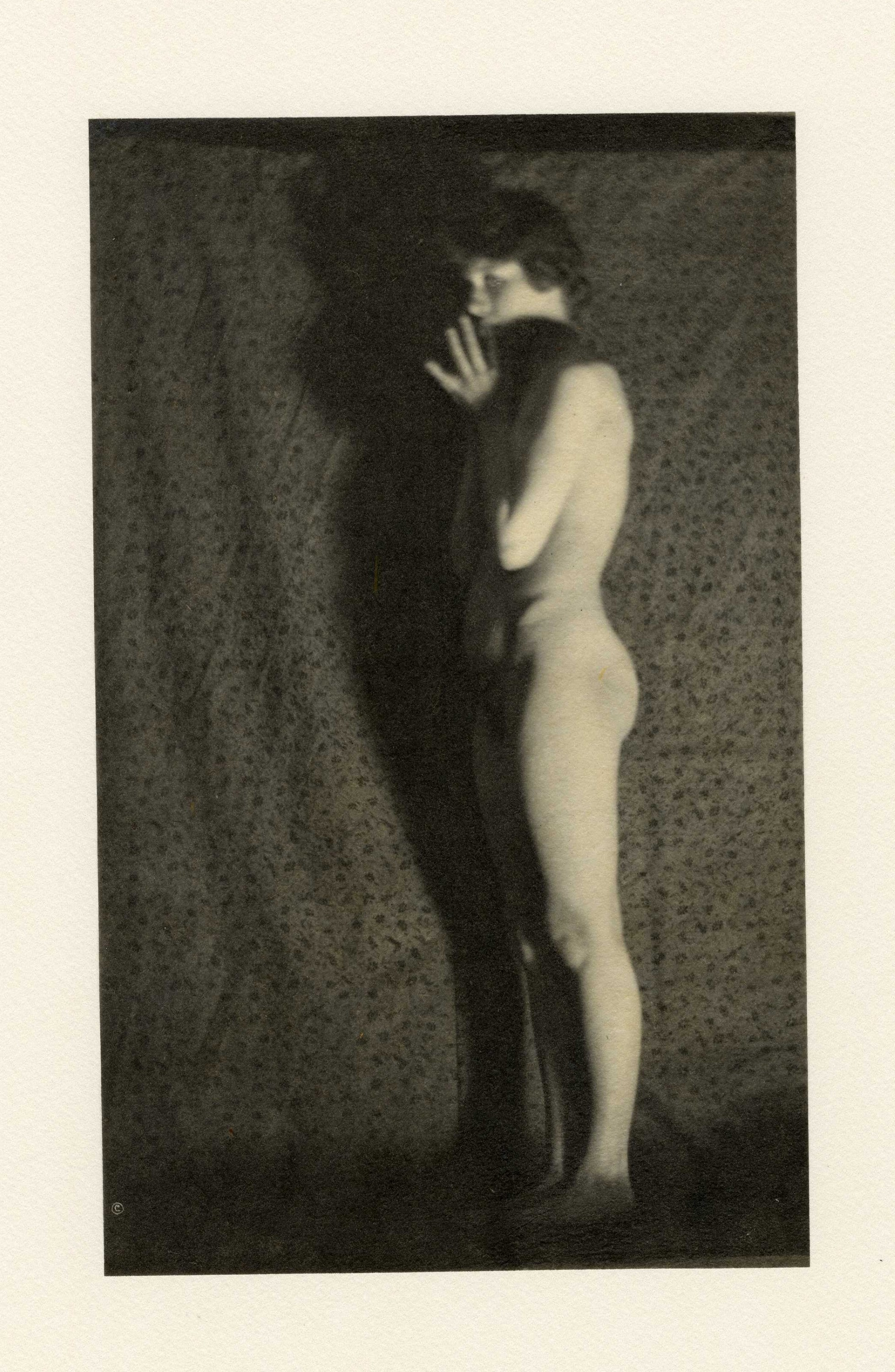 Standing nude with shadow, from the series, The Female Figure, 1917