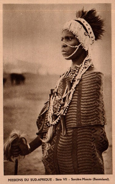 Shaman, Mosuto Tribe, South Africa