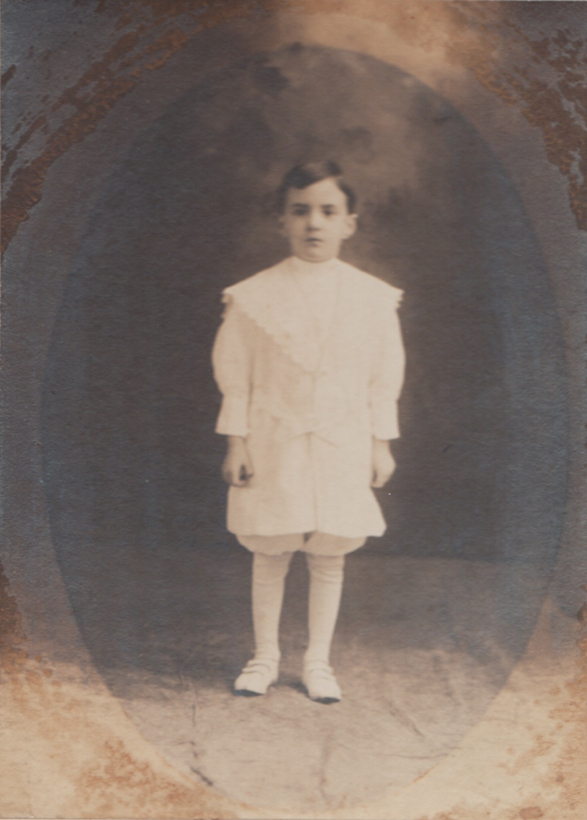 Young Boy First Communion