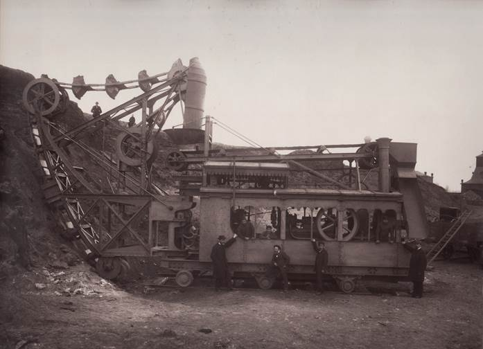 Steam-powered Digging Machine